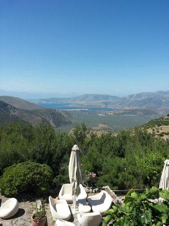 Delphi Palace: Fantastic view from the Room!