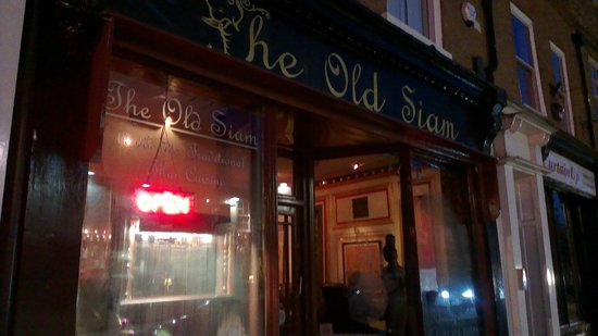 The Old Siam: Front of house