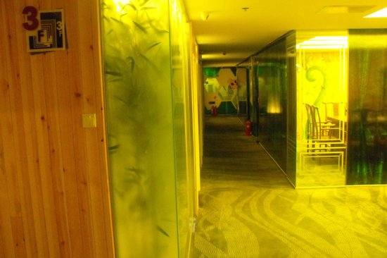 Jiangtai Art Hotel: My floor