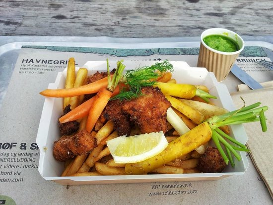 Toldboden: Fish and Chips!
