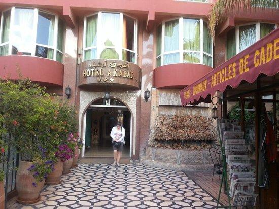 Hotel Akabar: Entrée hôtel