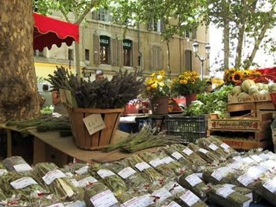 Transfer in Provence Private Tours : Marché Provençal