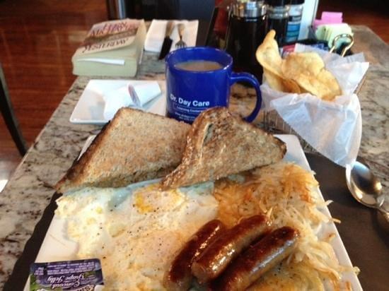 B'z Breakfast Burgers and Beyond: Great breakfast