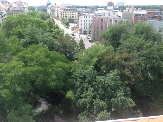 Charlotte Street Hotel: grüner ausblick