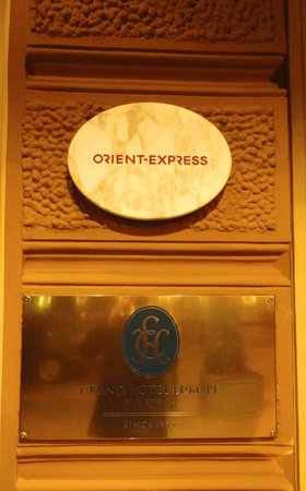 L'Europe Restaurant: Orient Express connection
