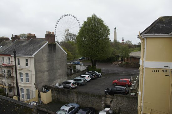 The Imperial, Plymouth : view from room