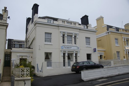 The Imperial, Plymouth : front of hotel