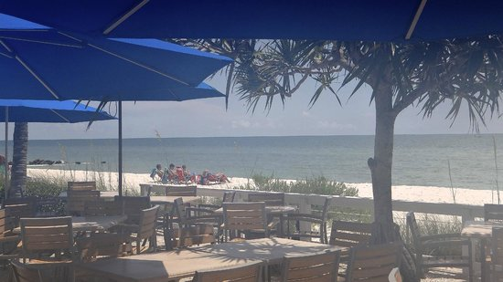 View from Inside HB's On The Gulf