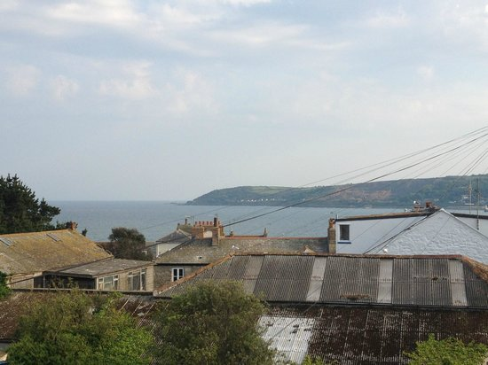 Artist Residence Cornwall : view from Ben Gray room