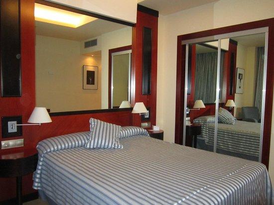 Hotel Olympia : Disfrutamos de esta habitación por cortesía del Hotel