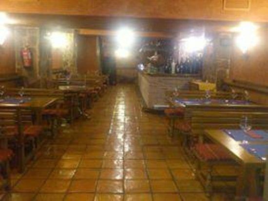 Restaurante gallego Don Mérito: comedor