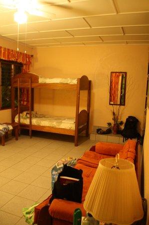 Hotel La Rosa de America : Rummeligt familieværelse