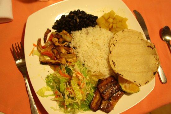 Hotel La Rosa de America : Casado i restauranten