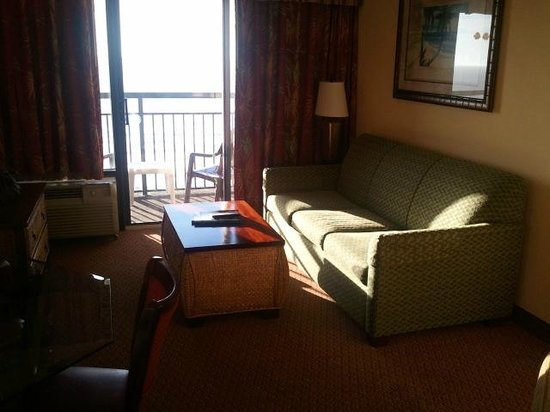 King Suite Room Area Picture Of Monterey Bay Suites Myrtle Beach Tripadvisor