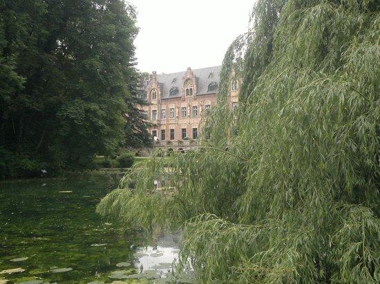 Schloss Paffendorf: Schloss von der Überseite des See