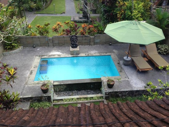 Bali Breeze Bungalows: nice vew from bedroom