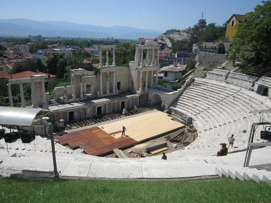 The Old Town Residence : teatro antico di Plovdiv