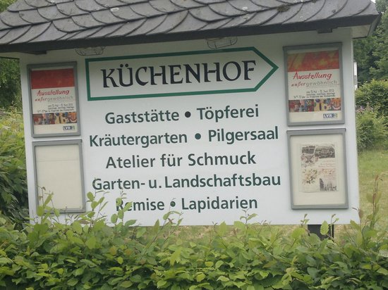 Altenberger Dom: Küchenhof
