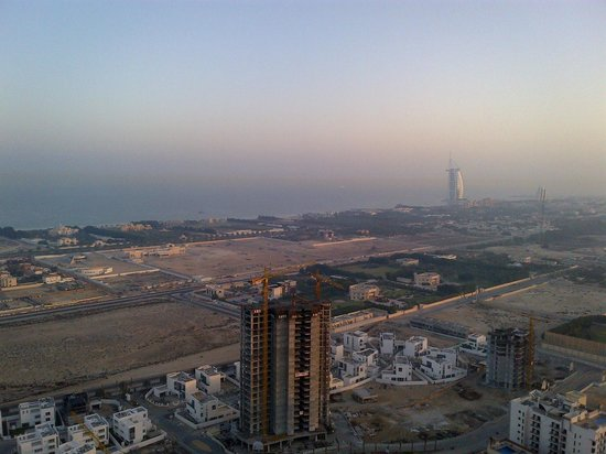 Fraser Suites Dubai: From the balcony of my saloon