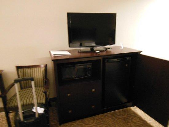 Holiday Inn Express Hotel & Suites Palatka Northwest: TV/Microwave/Fridge