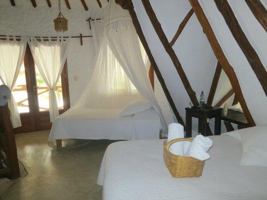 Holbox Hotel Casa las Tortugas - Petit Beach Hotel & Spa: Colibri bedroom