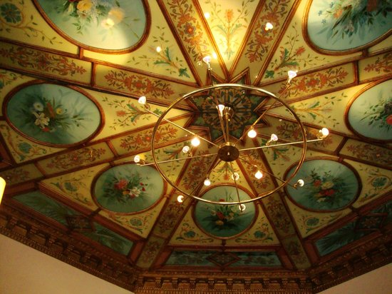 Hotel Royal Gothenburg: Entrance ceiling