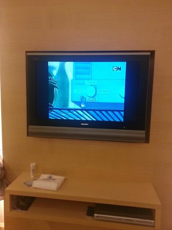 Hilton Singapore: Jerry  from Tom & Jerry on the Cartoon Network - suitable for children, just to entertain the ki