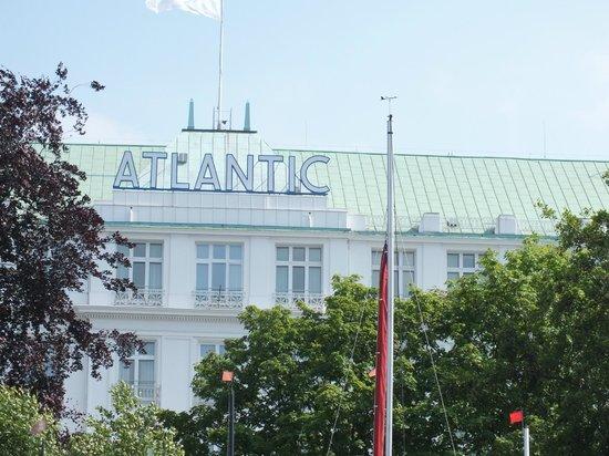 Hotel Atlantic Kempinski Hamburg: von der Außenalster