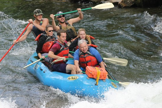 Appalachian Rivers Raft Company: Ut Oh