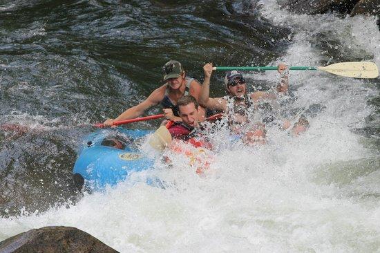 Appalachian Rivers Raft Company: Oh Noooooooo!