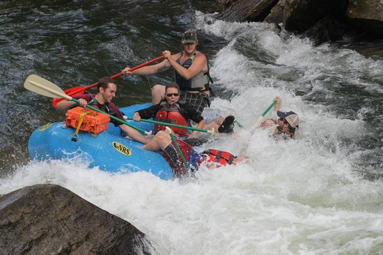 Appalachian Rivers Raft Company: Michael to the rescue!