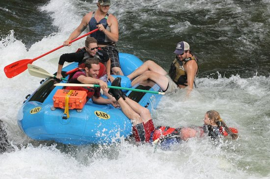 Appalachian Rivers Raft Company: Burr!