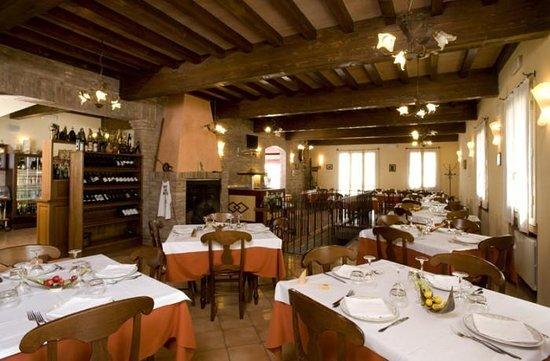 La Ca di Mat: La sala ristorante
