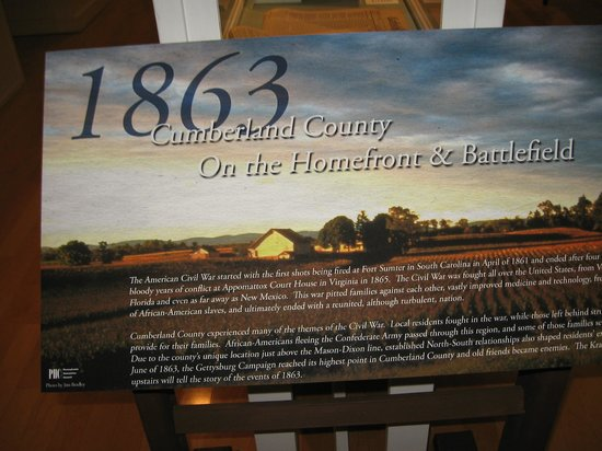 Cumberland County Historical Society : Exhibit:Confederates invaded Cumberland County in June 1863, leading up to Gettysburg Battle