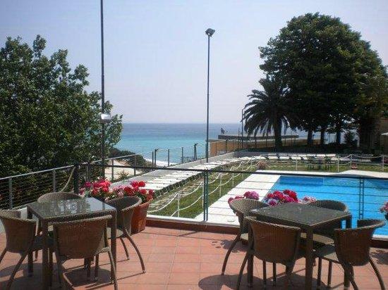 Villa Adele: Panorava con vista dalla terrazza