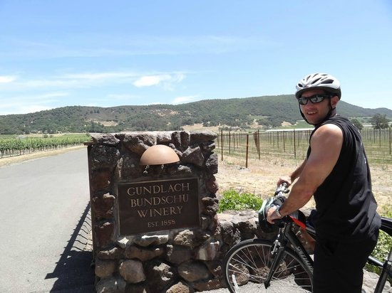 Sonoma Valley Bike Tours & Rentals: Heading to our lunch stop in Sonoma