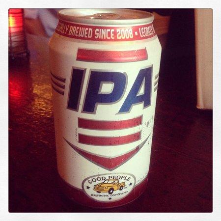 Five Bar: Local Beer, Dales IPA. Very Good