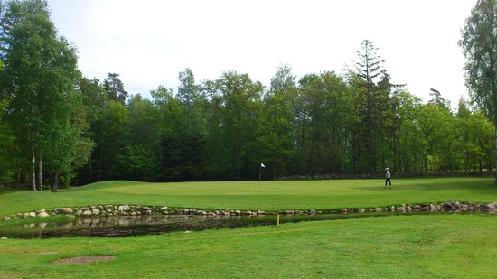 """Clarion Collection Hotel Packhuset: Playing golf at """"Saxnas Golf Course"""", at Oland"""
