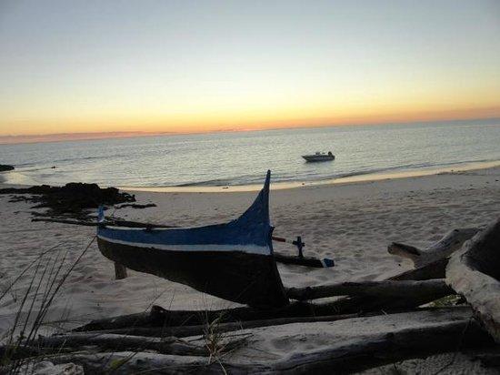 Ankasy Lodge: coucher de soleil