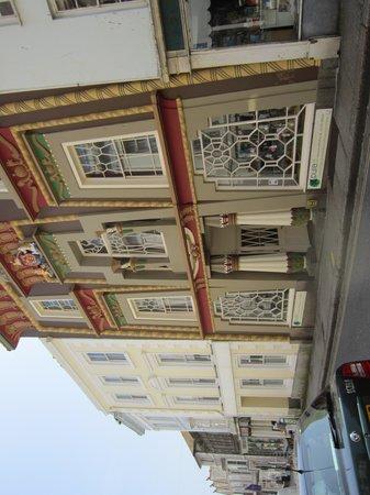 The Egyptian House: exterior