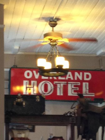 The Overland Hotel: Old ,but New !!!