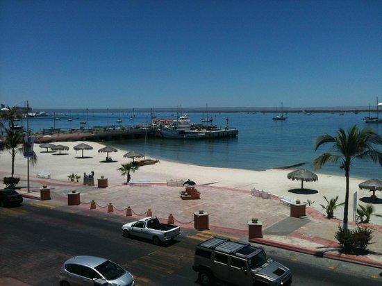 Hotel Perla: vista desde la zona de la alberca