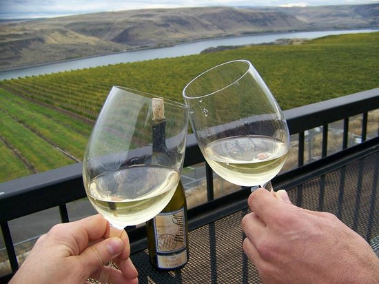 The Dalles, Oregón: maryhill winery