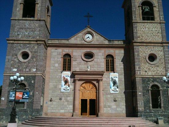 La Paz Cathedral: fachada