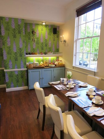 Harington's City Hotel : Bright, beautiful breakfast room