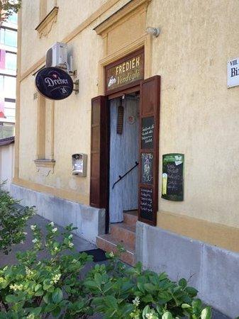 Hotel Manzard Panzio : frediek restoran
