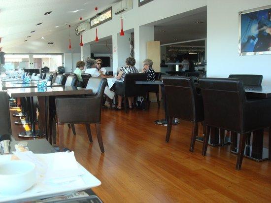 Hotel Saratoga: Upper restaurant area