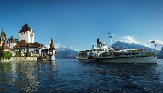 Bernese Oberland, Switzerland: Boat Cruise on Lake Thun