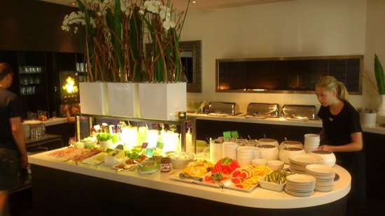 Clarion Collection Hotel Kompaniet: A part of the breakfast buffet