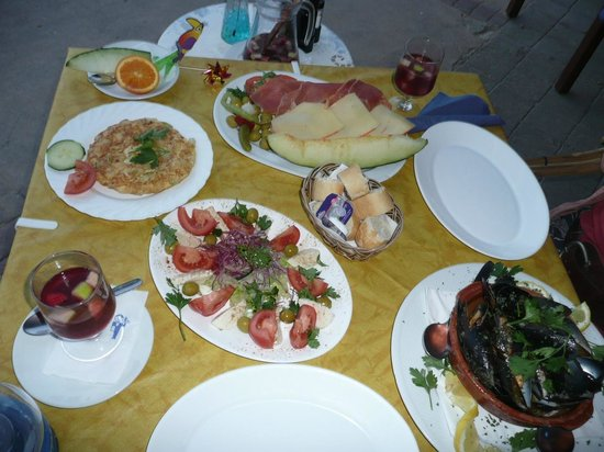 Melis : More lovely food!